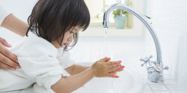 冬の風邪を予防するために、正しい手洗い・うがいを身につけよう!