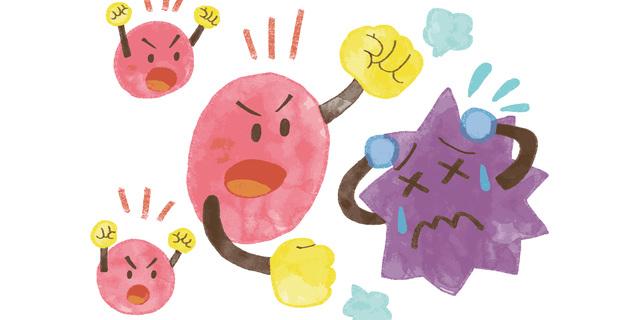 NK細胞でインフルエンザを撃退!ウイルスに負けない免疫力アップ法とは