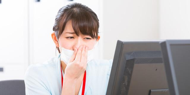 慢性的に鼻がつまって苦しい…鼻づまりが続く場合に考えられる疾患