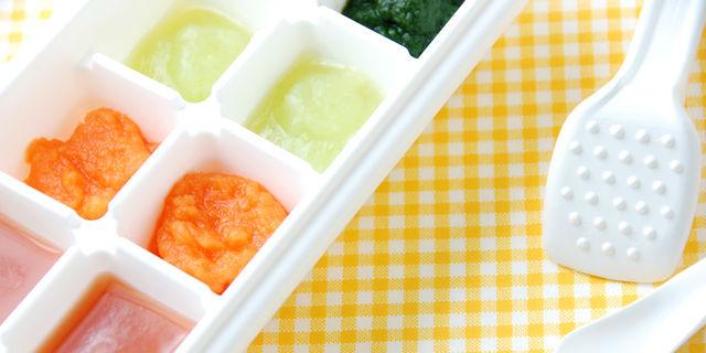 冷凍離乳食のストック