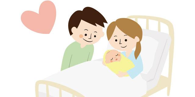 出産後の光景