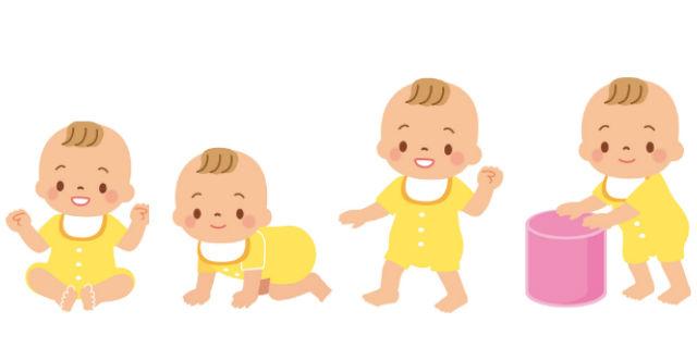 赤ちゃんの成長