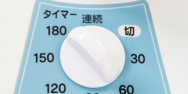 扇風機のタイマー機能