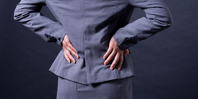 ぎっくり腰はもういやだ!腰を守る生活習慣ってあるの?