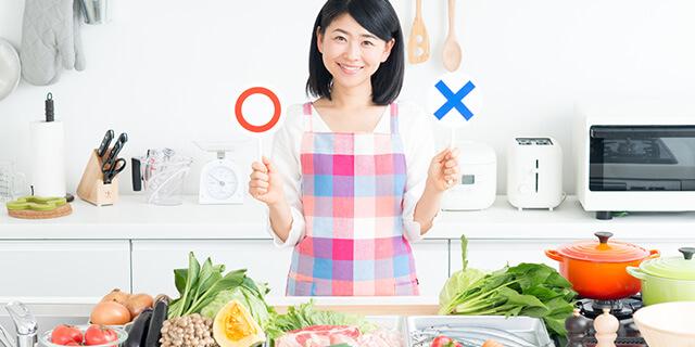 尿もれに効果的な食べ物、避けるべき食べ物って?