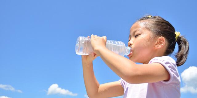 子どもの脱水症状の対策を教えて!