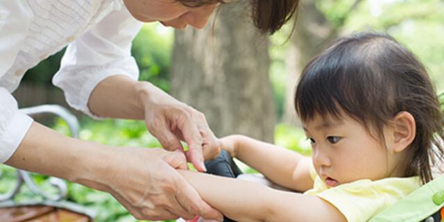 子どもの虫刺され、どう対応するのが正解?