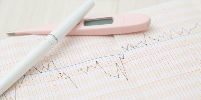 体温でわかる身体の状態 基礎体温をグラフで管理してセルフチェック!